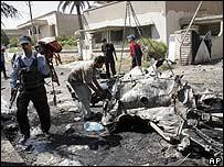 Car bomb attack on Baghdad police station, 10 September 2006