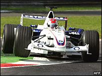 Rober Kubica, de BMW Sauber