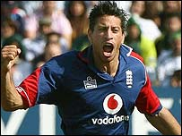 Sajid Mahmood impressed with bat and ball for England