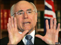 Australian PM John Howard (archive image)