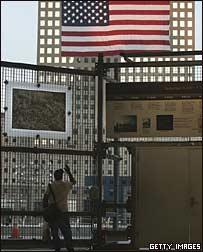 Место, на котором до 11 сентября 2001 года стоял Всемирный торговый центр