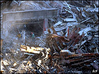 Ground Zero in December 2001