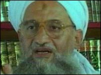 Ayman al-Zawahiri broadcast on 11 September