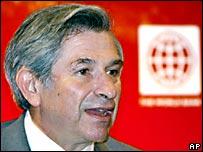 Paul Wolfowitz, presidente del Banco Mundial