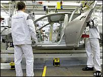 Fábrica en Wolfsburgo.