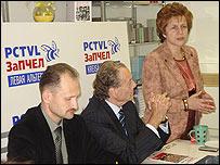 Татьяна Жданок из движения ЗаПЧЕЛ