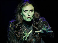Idina Menzel in Wicked