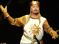 Tim Curry in Spamalot