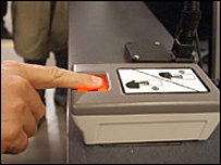 Fingerprint machine