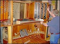 Work at Harrison & Harrison on the Royal Festival Hall organ