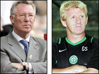 Sir Alex Ferguson/ Gordon Strachan