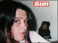 Gillian Gilchrist - picture courtesy of the Scottish Sun