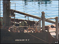Gregorio I ship in Limassol