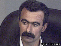 Witness Ghafour Hassan Abdullah in court on 12 September 2006