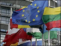 EU flag and others