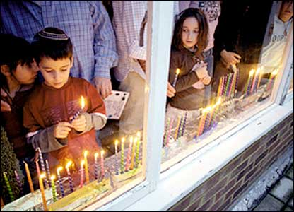 Children lighting candles.Image Credit: Arnhel de Serra
