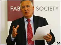 Peter Hain in his speech to the TUC fringe meeting