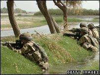 UK troops Musa Quala, Afghanistan