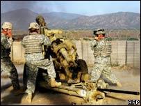 US troops in Bermel, Afghanistan