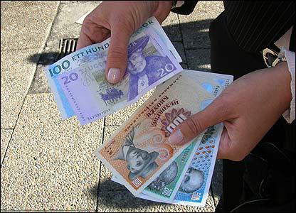 Danish and Swedish money