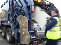 Rubbish collection (Image: Wates)
