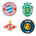 Escudos de los equipos en el Grupo B.
