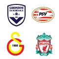 Escudos de los equipos en el Grupo C.