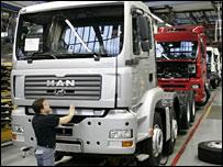 MAN truck production