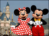 Minnie and Mickey Mouse, AP