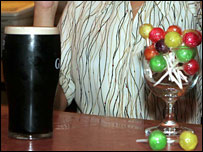 Pub lollipops (pic by Paul Reid)
