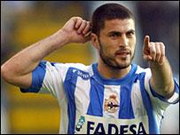 Spain international striker Diego Tristan has joined Real Mallorca