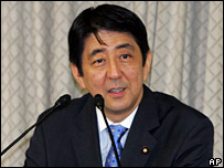 Shinzo Abe sets out his plans in Tokyo