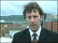Ian Paisley Junior has been criticised by nationalist politicians