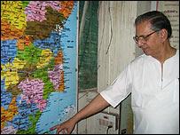 Organisation for Eelam Refugees Rehabilitation founder member SC Chandrahasan