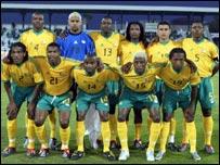 فريق جنوب افريقيا