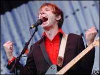 Franz Ferdinand perform at T in the Park