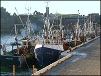 Peel fishing boats (picture courtesy of manxscenes.com)