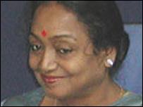 Social Justice Minister Meira Kumar