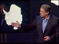 Al Gore, taken from film An Inconvenient Truth