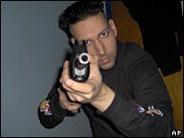 Photo of Kimveer Gill taken from his internet blog
