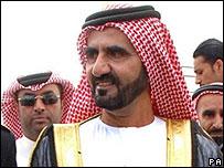 Dubai's ruler Sheikh Mohammed bin Rashid al-Maktoum