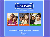Kids Health website