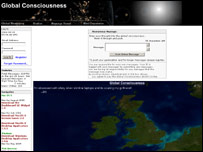 Global Consciousness website