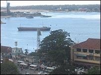 Dar es Salaam port, Tanzania