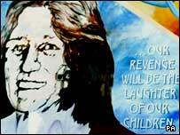 Mural of Bobby Sands