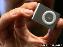 Ipod shuffle, Getty