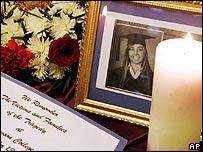 Memorial for Anastasia De Sousa, killed by the Dawson College gunman