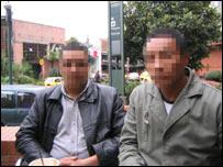 Los ex oficiales pidieron el anonimato.