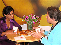 Saira Khan talks to Susan Kramer