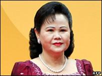Hun Sen and piseth pilika